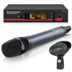 AUD4 – Handheld Radio microphone kit (must be ordered with PA system)